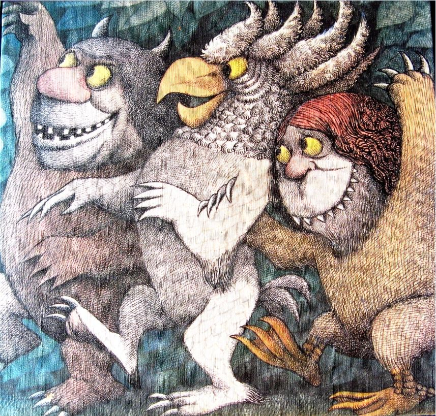 1 cover art of maurice sendak